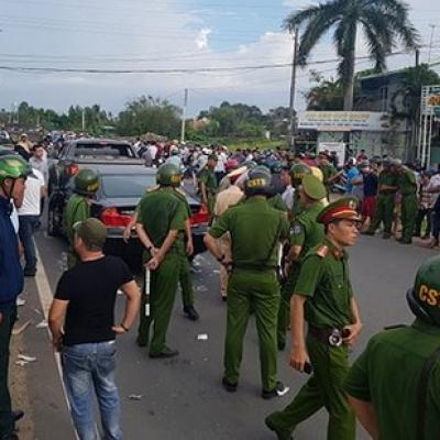 Nhân chứng nói về vụ xe 4 chỗ có 2 người nghi là công an Đồng Nai bị bao vây
