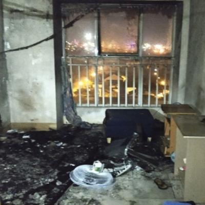 Cháy căn hộ tầng 11 chung cư ở Đà Nẵng, tài sản bị thiêu rụi