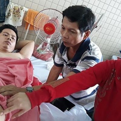 Bệnh nhân bị khoan nhầm cẳng chân phải mất 6 tháng mới khỏi, chấp nhận lời xin lỗi của bệnh viện